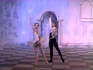 "Михаил Барышников и Людмила Семеняка.  ""Дон Кихот"". 1968."