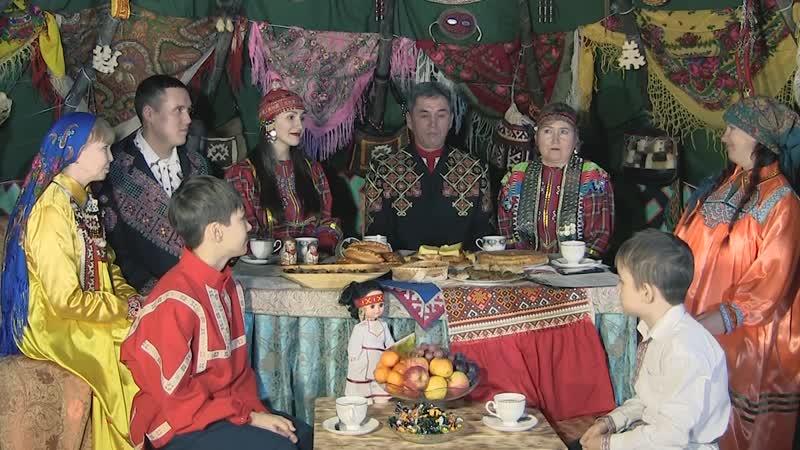 В Гостеприимном чуме чувашская семья Медведьевых