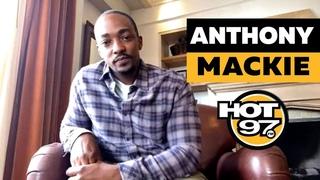 Anthony Mackie On Playing A Superhero, Chadwick Boseman, Future Of Black Films + Black Mirror