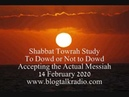 Shabbat Towrah Study To Dowd or Not to Dowd 14 February 2020