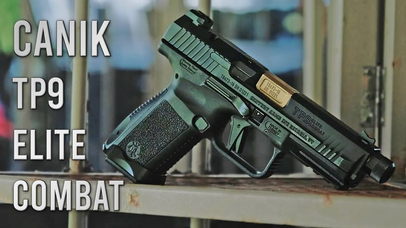 Canik TP9 Elite Combat Shooting Range Day RealWorld Tactical