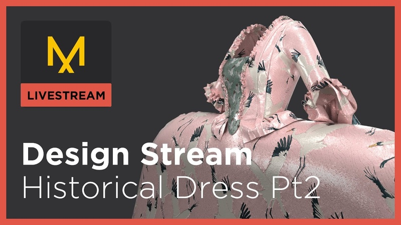 Design Stream Historic Dress 2