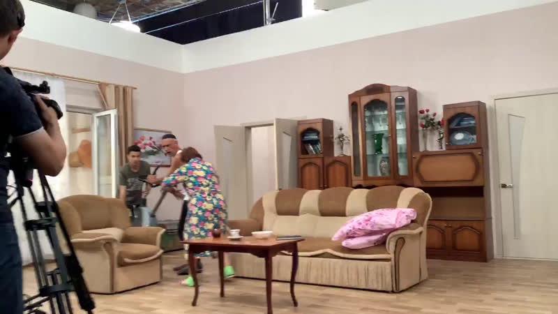 Рәхәт яшибез ситкомының унынчы эпизодның төшерүе
