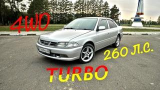 Разгон Toyota Carina 3S GTE 260 л.с. 0-100