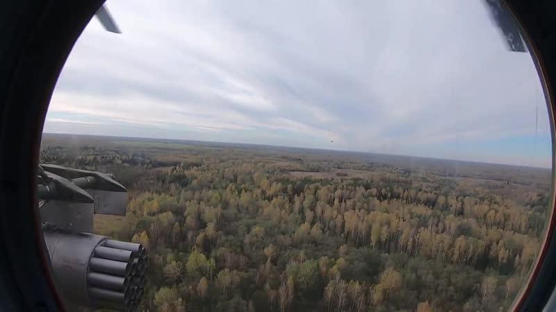 На учении Нерушимое братство 2020 вертолеты ЦВО обеспечили высадку десанта и дос