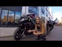 Женский сравнительный обзор мотоциклов BMW S1000rr и Yamaha R1🔥Два литра сока! Испугалась Р1