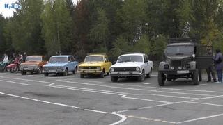 Автопробег ретро-автомобилей к юбилею города