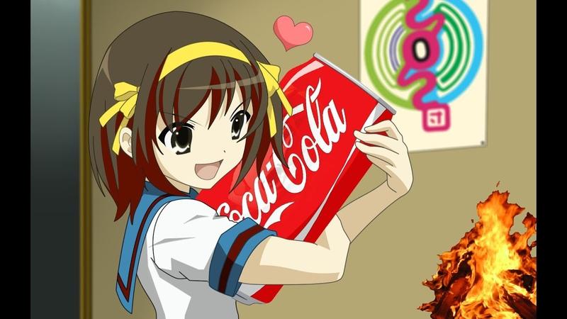 Огонь Кока Кола = 🔥 🍶 Эксперименты дома ➄