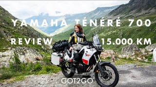 YAMAHA TÉNÉRÉ 700: The BEST motorcycle to travel? REVIEW after  kilometers on the road