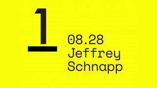 Jeffrey Schnapp  - Autumn 2019 Baumer Lecture Series