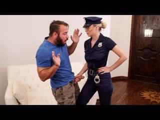 Natalia Starr - Caught By The Cops! (MILF, Big Tits, Blonde, Blowjob, Uniform, Hardcore, All Sex)