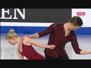 Evgenia TARASOVA / Vladimir MOROZOV  SP  GRAN PRIX FINAL 2018 VANCOUVER