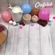 id_22836 Чизкейкс маршмеллоу и шоколадом 🍡🍫🍰  Автор: Chef Club  #gif@bon
