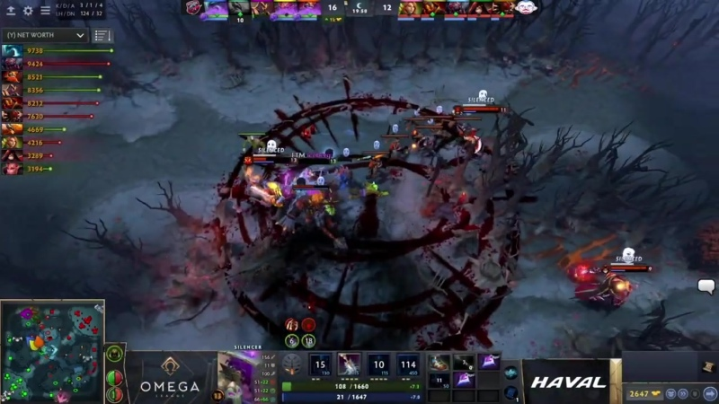 FlyToMoon vs 5men OMEGA League Europe bo5 game 2 4ce Mortalles