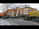На улице Маслова ведутся работы по устранению утечки из водопроводной сети.