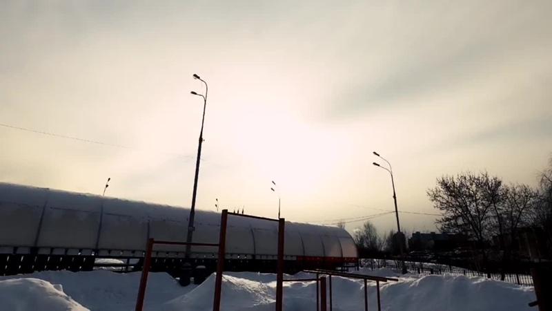 OTMOROZOK Беломорский морж Купание в снегу на морозе