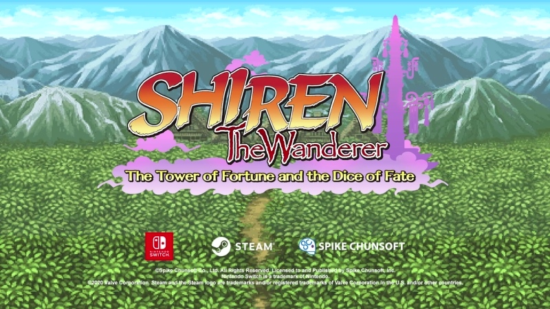 Shiren the Wanderer The Tower of Fortune and the Dice of Fate Трейлер