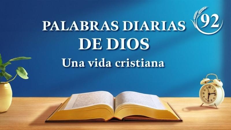 Palabras diarias de Dios | Fragmento 92 | La verdad interna de la obra de conquista (4)
