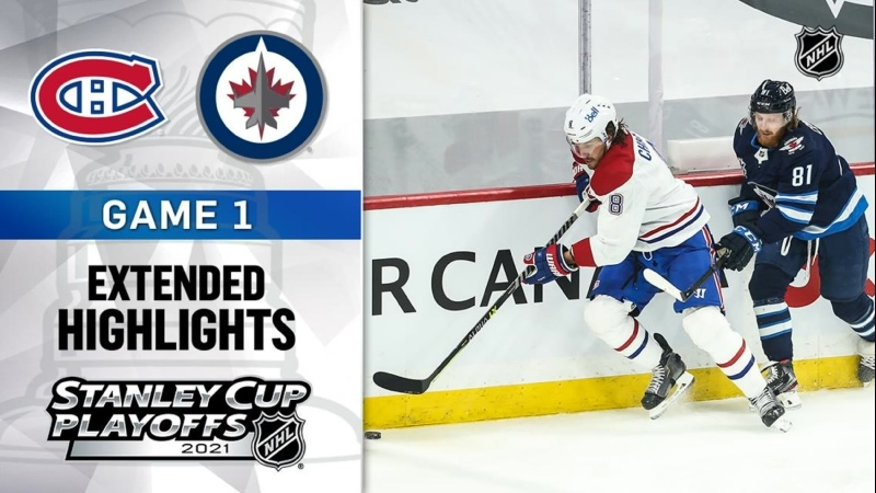 Montreal Canadiens vs Winnipeg Jets R2 Gm1 Jun 2 2021 HIGHLIGHTS
