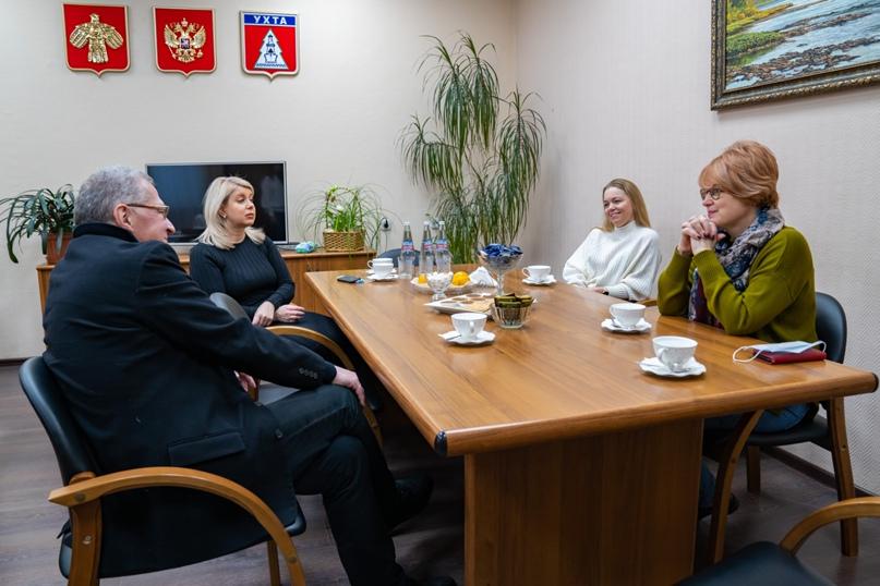 Президент Национальной галереи Коми Пьер Броше посетил Ухту, изображение №5
