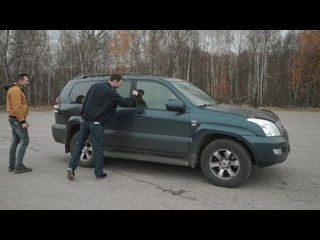 НОВЫЙ УАЗ Патриот АВТОМАТ или БУ Тойота ПРАДО Битва сравнение оффроад (1)