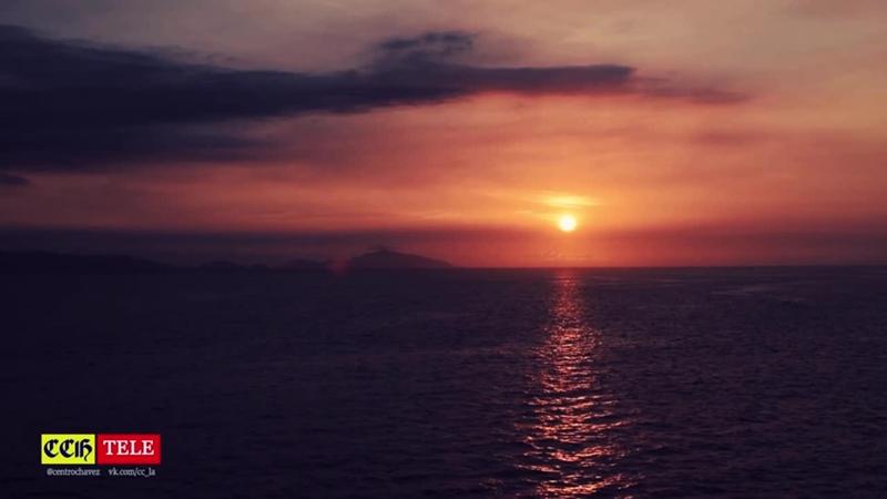 CCHTV Природа Венесуэлы Закат над Карибским Морем