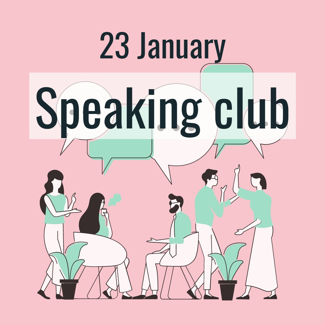 Афиша Самара English Speaking club from Blablalab