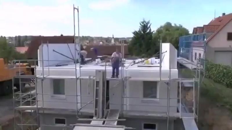 Строительство загородного дома в Германии за 1 день, Лего для взрослых )