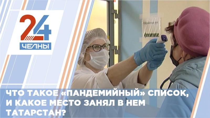 В пандемийном списке Татарстан занял 11 место