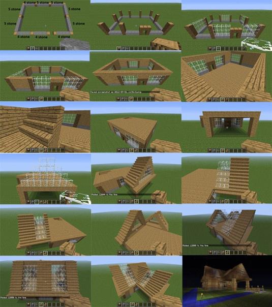 постройка домов для новичков в майнкрафте #8