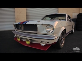 Petrolicious: The Martini Mustang is Loud & Fast Art [BMIRussian]