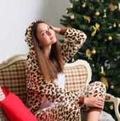 Пижама Кигуруми леопард