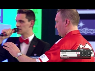 Glen Durrant vs Paul Hogan (BDO World Darts Championship 2017 / Round 2)