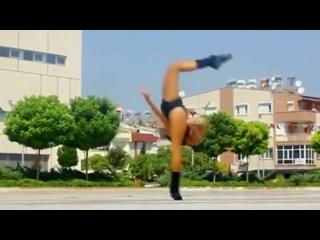 Удивительная гимнастика!
