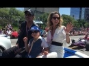 Jeffrey Dean Morgan and Family The Walking Dead Indy 500 his Wife says shes Nega