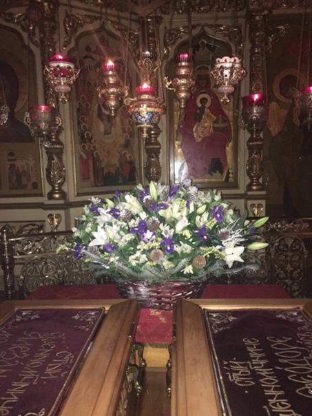 Анна Александрова: Рождественская корзина к мощам святых Александра и Федора)