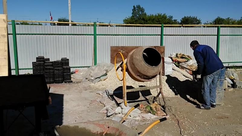 Как делать тротуарную плитку, состав бетона, формовка, вибростол