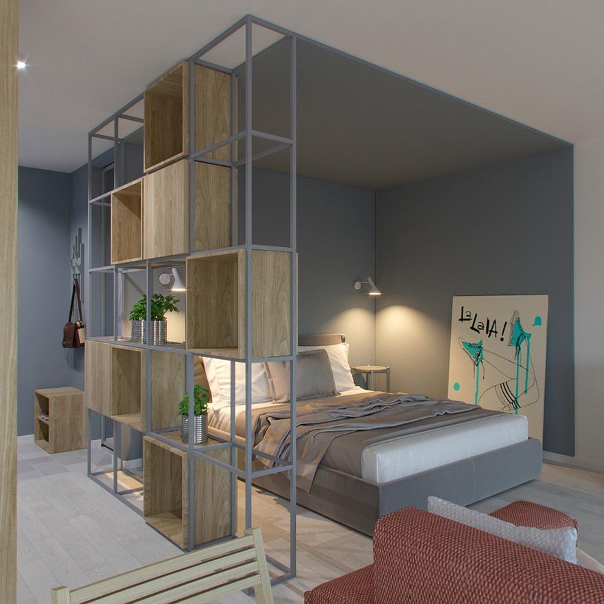 Проект квартиры 39 м.