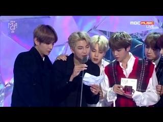 061118 Genie Music Awards Bang Sihyuk wins Best Producer Award🏆