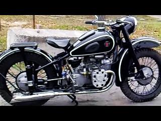 Мотоцикл М-72 1955 года, после реставрации