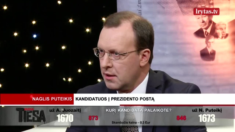 A. Juozaitis atstūmęs daugelį savo potencialių rinkėjų pareiškimu, kad D. Grybauskaitės veiklą prezidento poste vertina teigiama