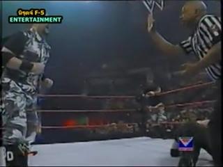 มวยปล้ำน้าติงพากย์ไทย นิวเอจ เอ้าท์ลอว์ VS. ดั๊ดลี่ย์บอย ชิงแชมป์ WWE แท็กทีม ครับ พี่น้อง