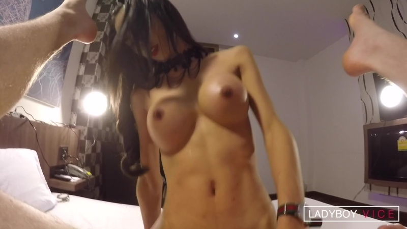 Enjoy, Topping And Creampie транс, трап, ледибой Shemale On Male, Anal, Hardcore, Asian,