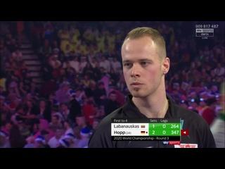 Darius Labanauskas vs Max Hopp (PDC World Darts Championship 2020 / Round 3)