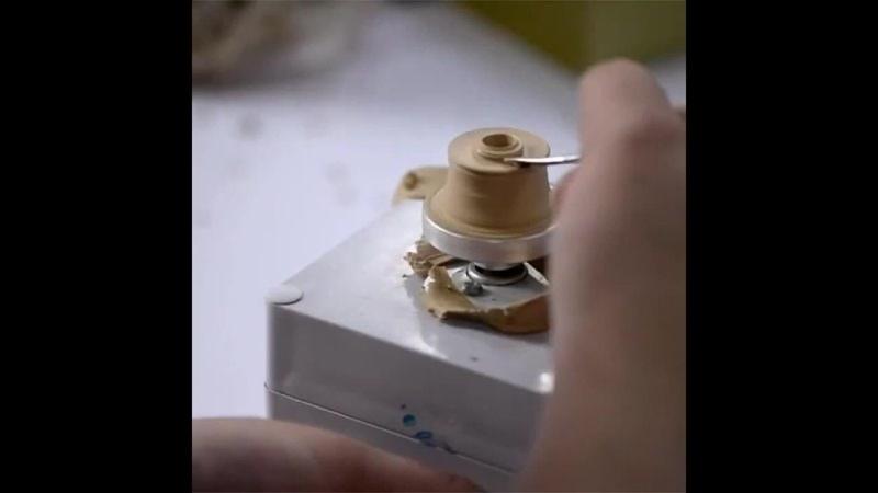 Небольшой гончарный круг, который работает от USB yt,jkmijq ujyxfhysq rheu, rjnjhsq hf,jnftn jn usb