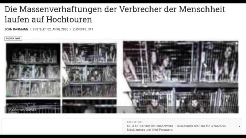 Die Massenverhaftungen der Verbrecher der Menscheit laufen auf Hochtouren