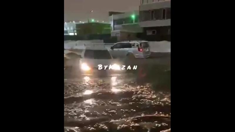 Потоп на Мамадышском тракте