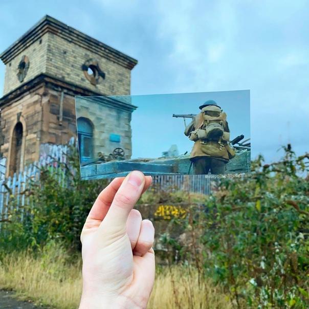 «1917» в реальных локациях на фотографиях Томаса Дьюка С момента премьеры, к слову, уже прошел целый год.