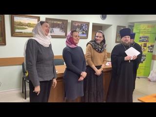 Леонтьева В.В. сказала напутственное слово выпускникам.