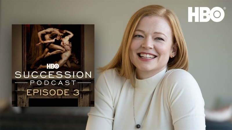 Succession Podcast Interview with Sarah Snook Episode 3 HBO